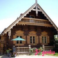 Красивый дом в деревне