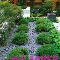 Гравийные отсыпки в саду