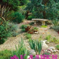 Гравийные отсыпки в саду, преимущества